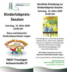 Kinderlobpreis-Session
