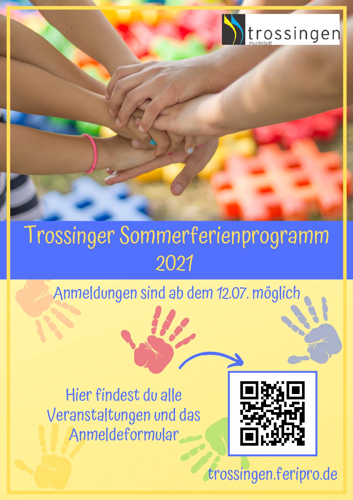 Trossinger Sommerferienprogramm 2021